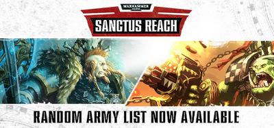 Warhammer 40000 Sanctus Reach Horrors of the Warp-CODEX
