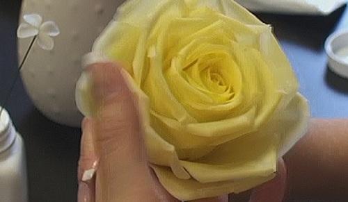 Розы из глины видео