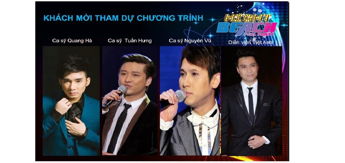 các ca sĩ tham dự sự kiện