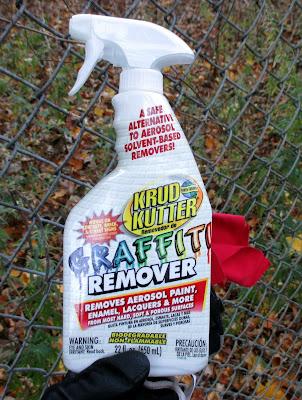 goof off graffiti remover instructions