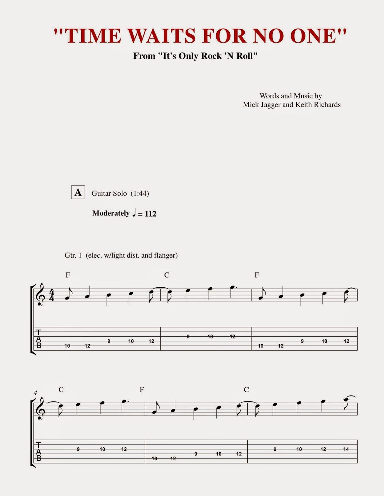 Custom Guitar Transcriptions The Best Of Mick Taylor 1969 1974 Pdf