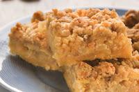 Tarta de manzana y crumble de nueces