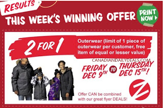 BOGO Zellers Coupon