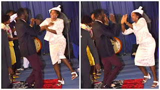 See what Apostle Suleman and wife were seen doing amidst extramarital affair scandal (photos)
