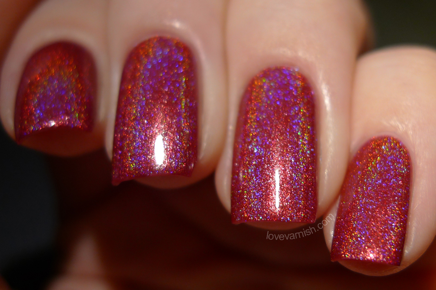 Too Fancy Lacquer It's Christmas Just Look At The Flowers swatches review