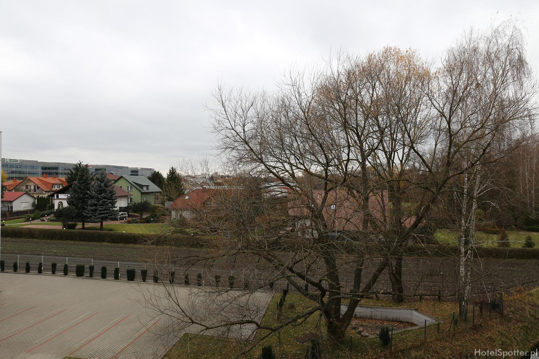 Warsaw Plaza Hotel - widok z okna