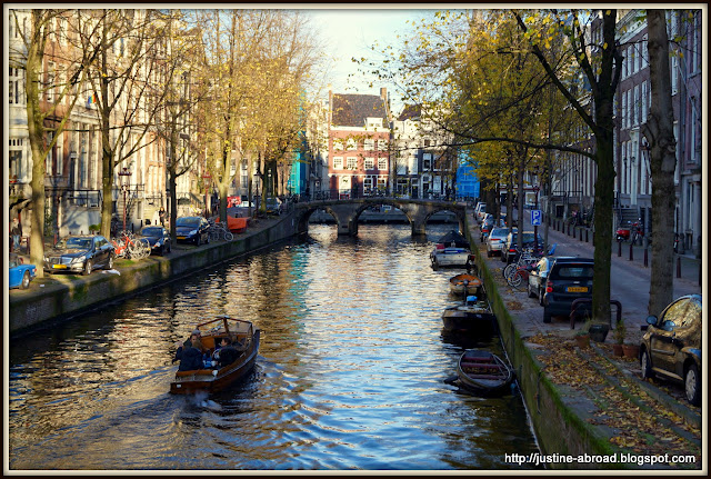 gracht, canal in Amsterdam, Netherlands