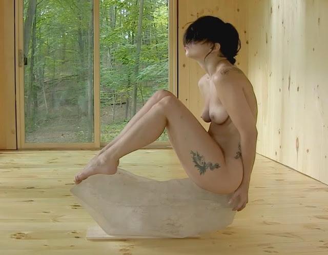 Lady gaga practicing the abramovic method scandalplanetcom 9