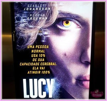 Scarlett Johansson no filme Lucy