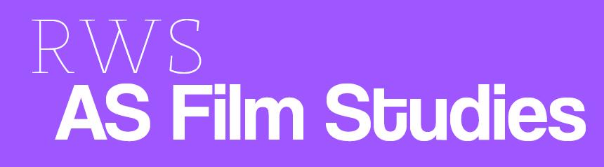 RWS AS Film Studies