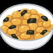 煮豆のイラスト