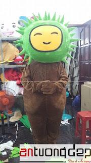 may bán mascot sầu riêng