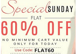 Yebhi Mega Shopping Festival: Upto 79% + Extra Flat 60% OFF on more than 4000 Items
