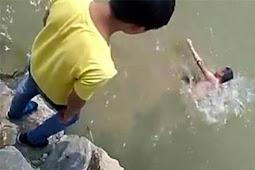 Tragis Temannya Tertawa Melihat Remaja Ini Tenggelam