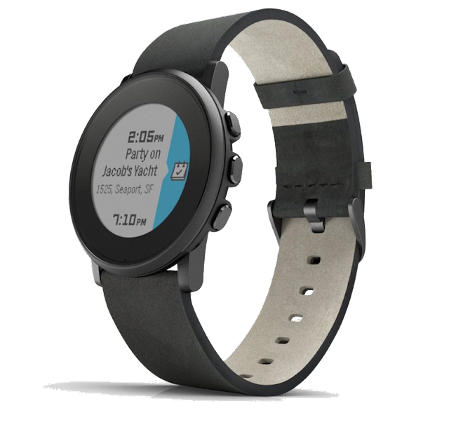 Pebble Time Round New watch model for 2016