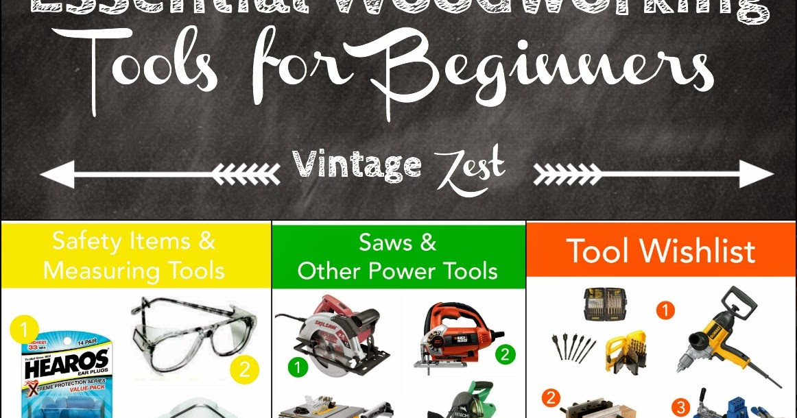 Essential Woodworking Tools for Beginners: A wishlist! ~ Diane's ...