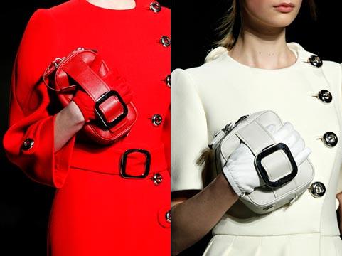 Fashion handbags of fall to winter 2011/2012: wrist models