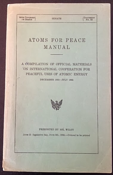 atoms for peace analysis Romania is but one example in a world that reverberates from the fallout of the united states' cold war folly known as atoms for peace, a program that distributed highly enriched uranium around .