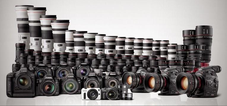 Canon produksi 250 juta kamera digital