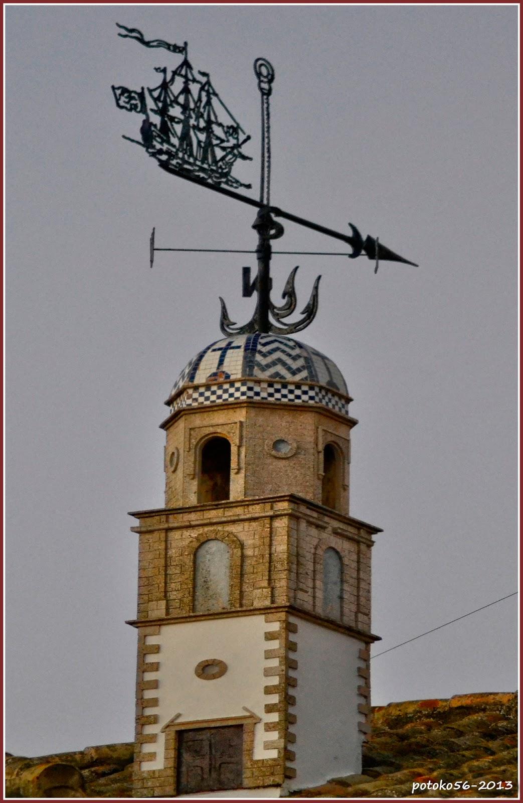 Torre de la Merced replica convertida en veleta Rota
