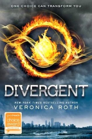the cover of Divergent by Veronica Roth