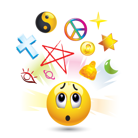 Religion emoticon