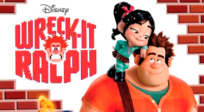 Wreck-It Ralph movie - A video game villain wants to be a hero and sets out to fulfill his dream, but his quest brings havoc to the whole arcade where he lives.