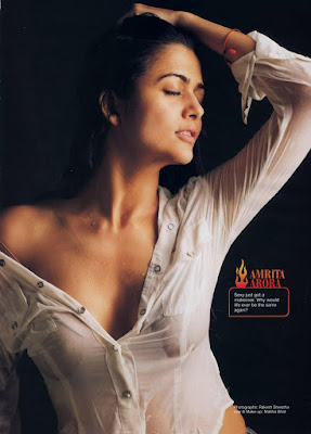 Bollywood Actress: Amrita Arora nude boobs tits nipple