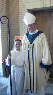 Archbishop Rodi Visits Montgomery Catholic's St. Bede Campus 2