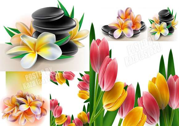 Gambar Vector Bunga