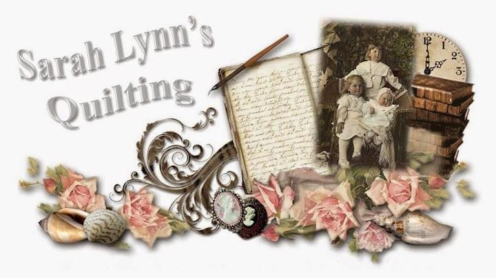 Sarah Lynn's Quilting