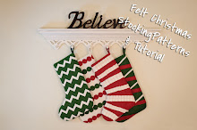 Felt Stocking Patterns &amp; Tutorials