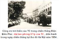 Công ơn trời biển của TC đối với VC