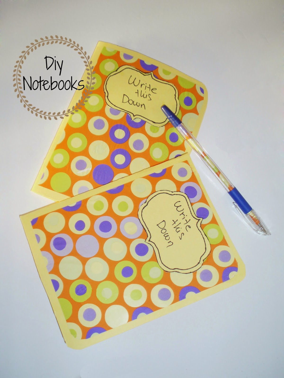 diy notebooks χειροποιητα σημειωματαρια