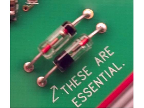 Klon KTR diodes