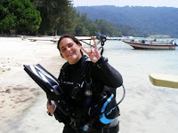 antigravity dive instructors sarah