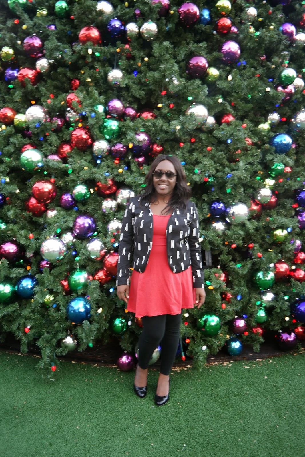 christmas tree, atlantic station, atlanta, berry dakara