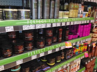 natural hair products in stores