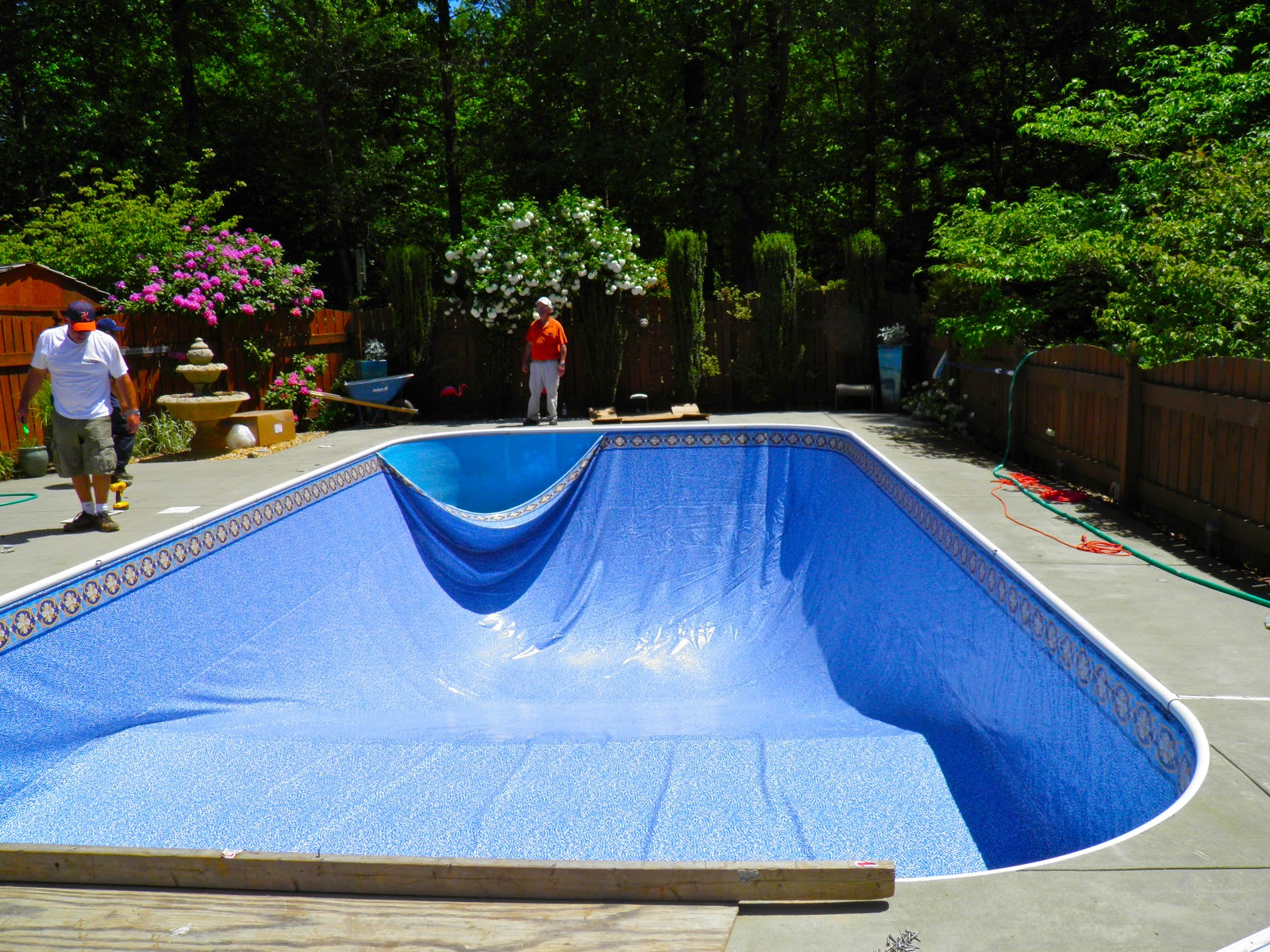 From Captain 39 S Daughter To Army Mom Swimming Pool Liner Replacement