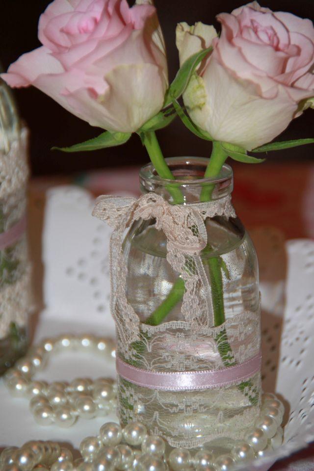 Ankerwerfer Dekoidee Romantic Vintage Rose