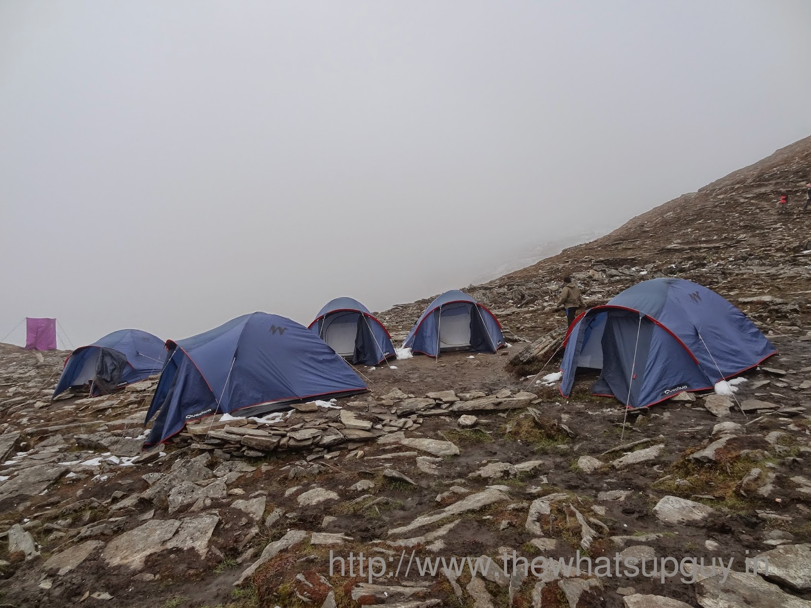 Tents Roopkund Trek With India Hikes Day 4