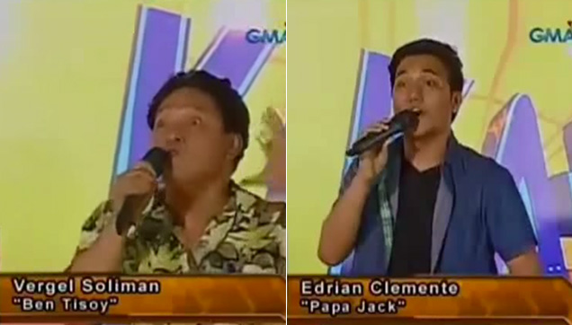 Vergel and Edrian showcasing their talents.