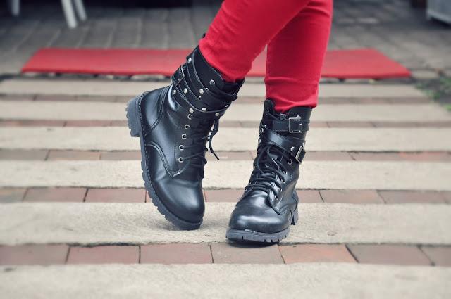 Dresslink Biker Boots