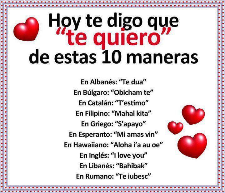Frases 4u Hoy Te Digo Que Te Quiero