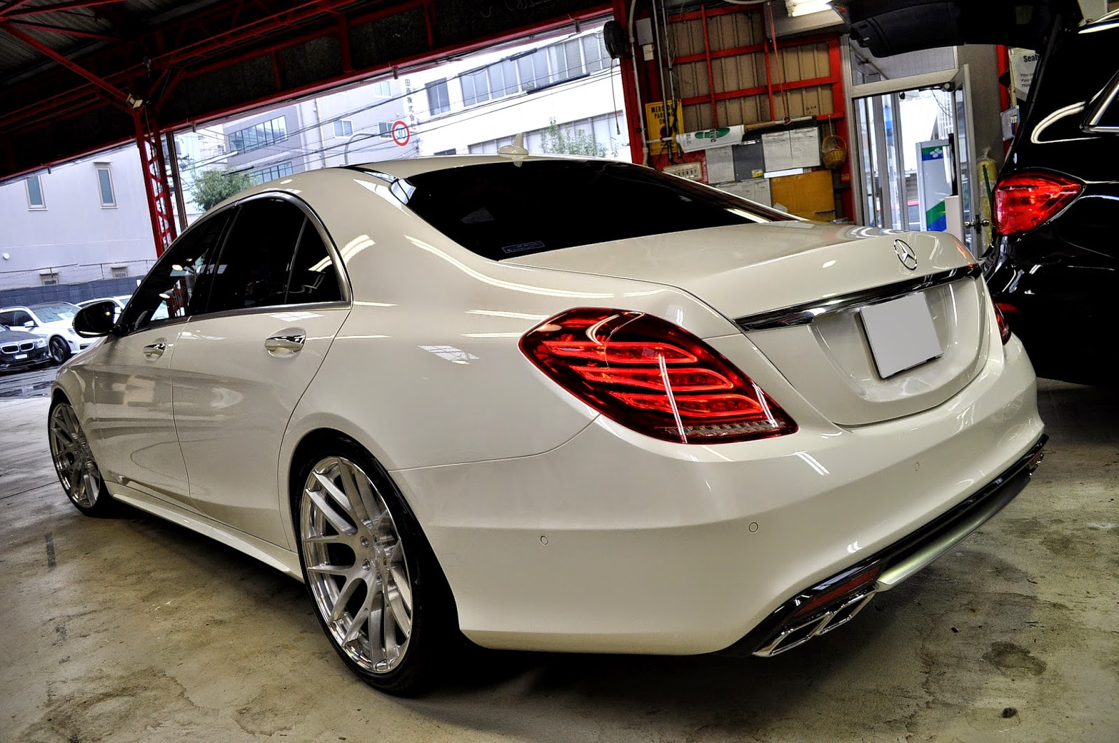 Mercedes benz w222 s550 on bc forged wheels benztuning for Mercedes benz richmond bc