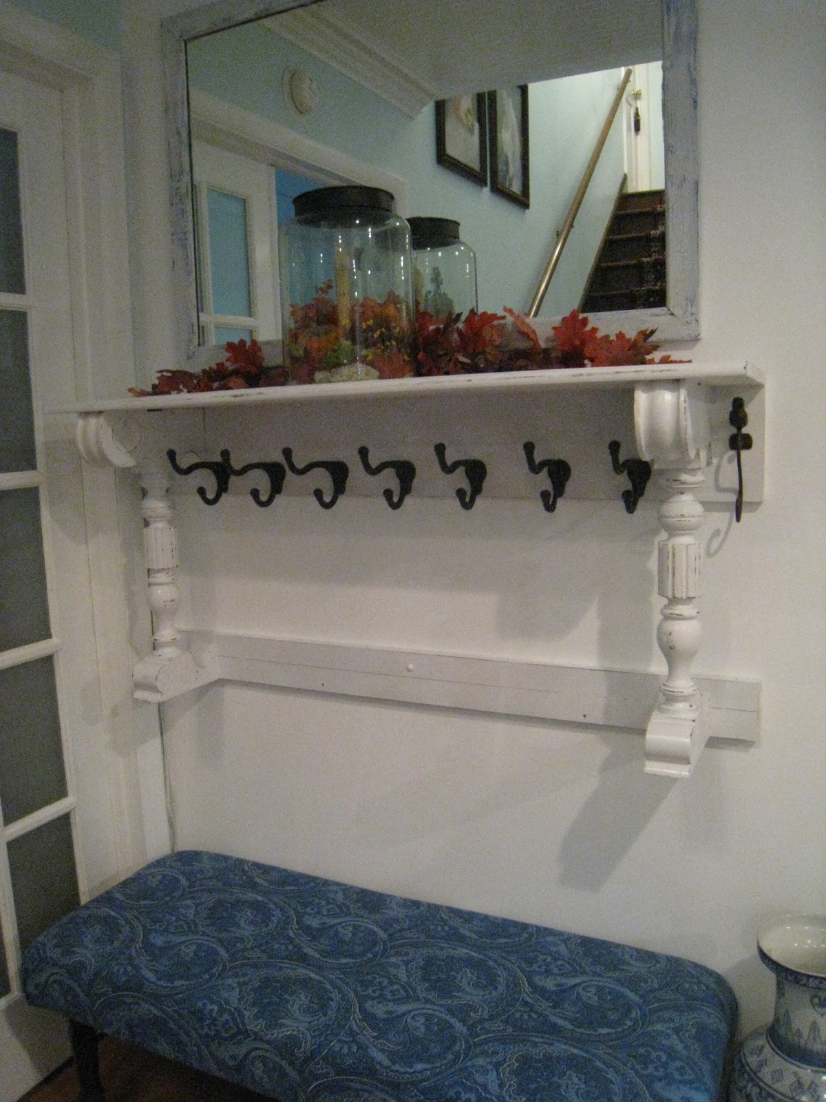 Repurposed For Life Coat Rack From Piano Parts