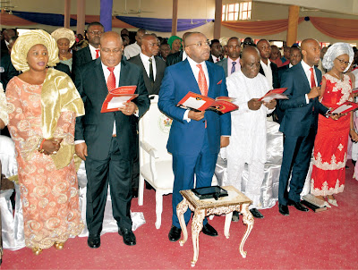 Gov. Udom urges Nigerians to pray for the economic fortunes of the Country