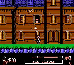 Addams Family Screenshot 1