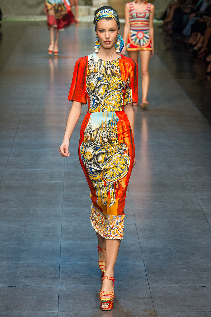 Runway to Style Freaks| Fashion Blog: Dolce and Gabbana's ...