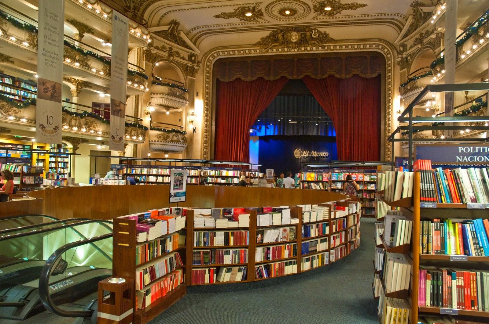 Libreria El Ateneo de Buenos Aires